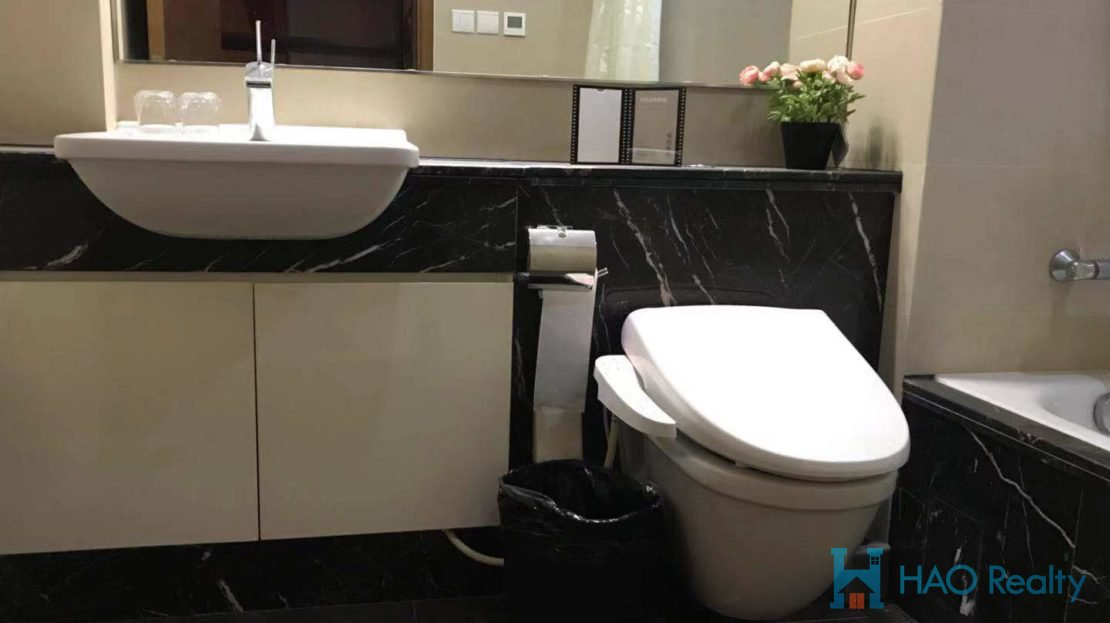 Bright 1BR Modern Apartment w/Wall Heating in City Castle HAO Realty Shanghai HAOAW004566