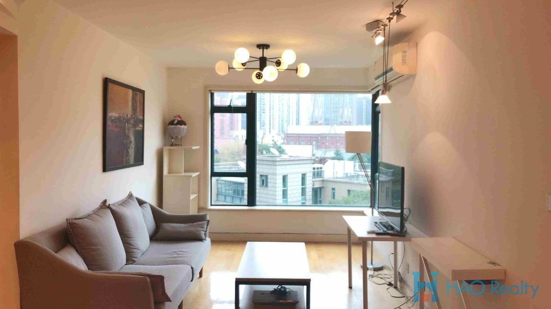 Bright 2BR Modern Apartment in Oriental Manhattan HAO Realty Shanghai HAOAW004510
