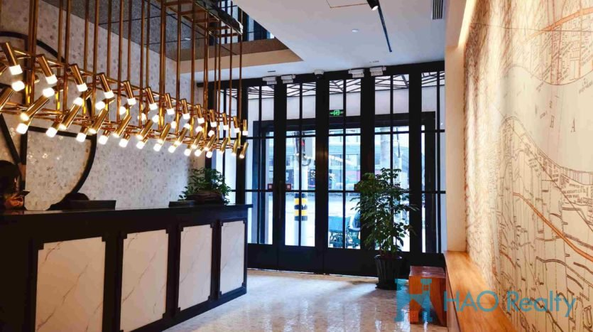 Stylish 1BR Service Apartment in Downtown HAO Realty Shanghai HAOTW005301