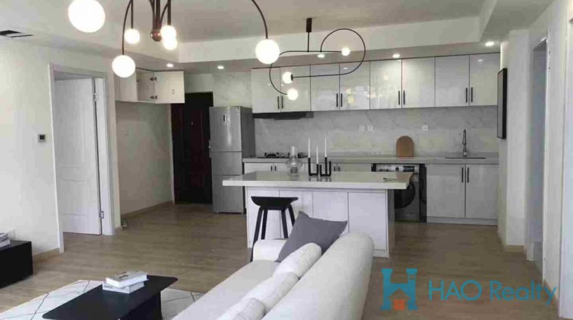 Bright 2BR Apartment w/Floor Heating in Zhongfu City HAO Realty Shanghai HAOGG010036