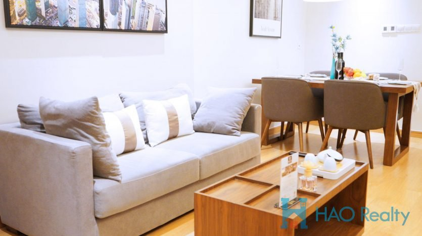 Cozy 1BR Service Apartment w/Wall Heating in Hebao Road 18 HAO Realty Shanghai HAOAG014839