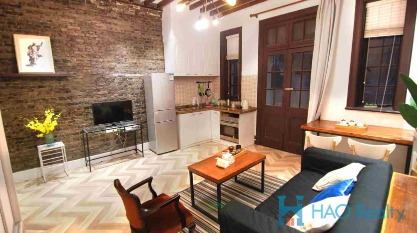 Nice 1BR Lane House in West Nanjing Road HAO Realty Shanghai HAOGG010005