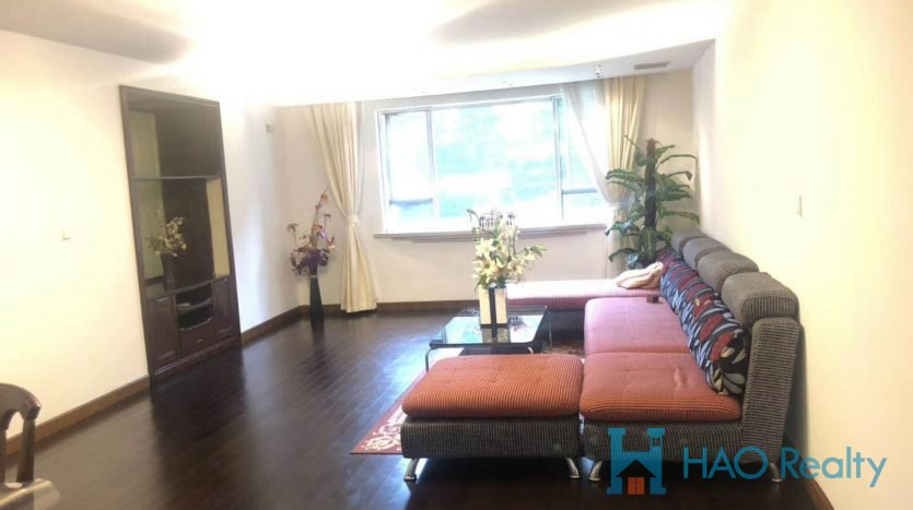 Bright 2BR Apartment in Zhongshan Park HAO Realty Shanghai HAOEC023173
