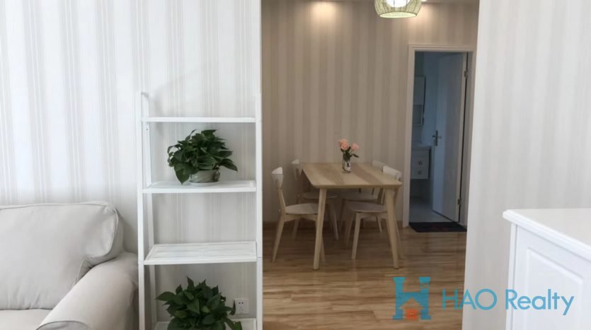 Bright 2BR Apartment w/Floor Heating in Hongqiao HAO Realty Shanghai HAOLC021059