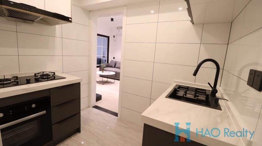 Cozy 1BR Apartment in Jiaozhou Road HAO Realty Shanghai HAOTZ021395