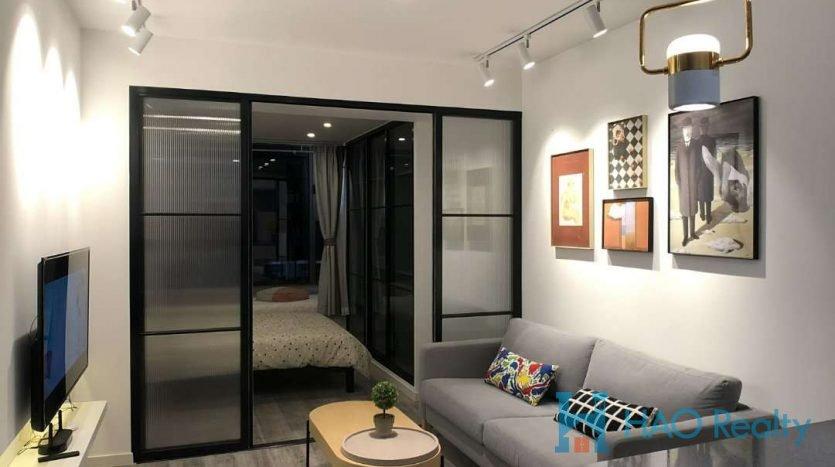 Cozy 1BR Apartment w/Floor Heating near Jing'an Temple HAO Realty Shanghai HAOEC023616