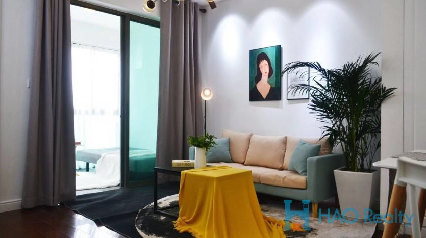 Cozy 1BR Apartment w/Wall Heating in Sinan New Garden HAO Realty Shanghai HAOAG017489