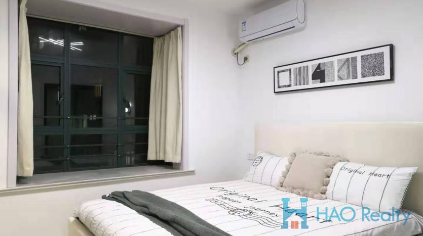 Cozy 1BR Apartment w/Wall Heating in West Yan'an Road HAO Realty Shanghai HAOAG023322