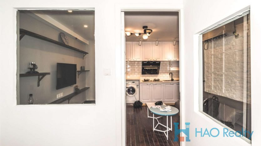 Cozy 2BR Lane House w/Wall Heating close to West Nanjing Road HAO Realty Shanghai HAOAG023102