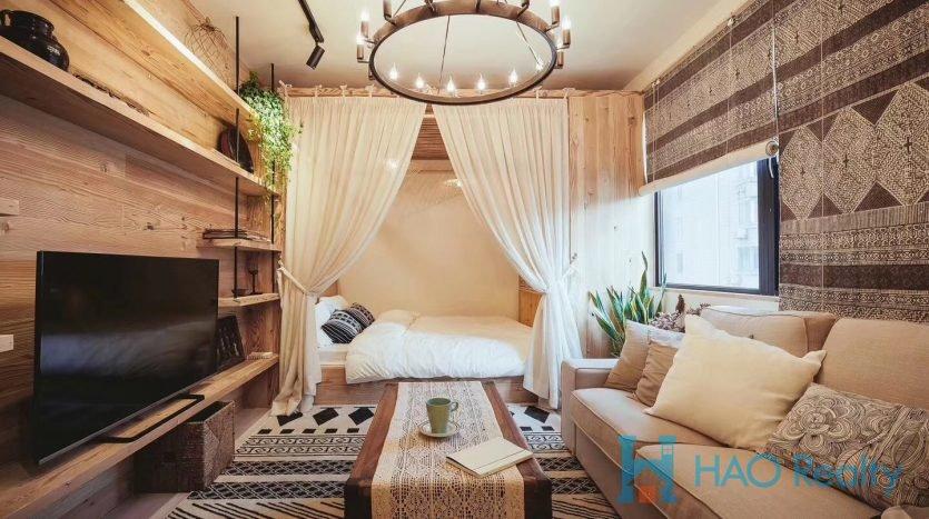 Spacious 1BR Apartment in Huashan Garden HAO Realty Shanghai HAOMS021524