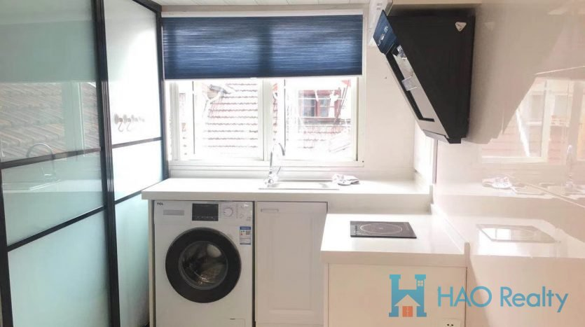 Spacious 1BR Lane House in Middle Jianguo Road HAO Realty Shanghai HAOMS021731