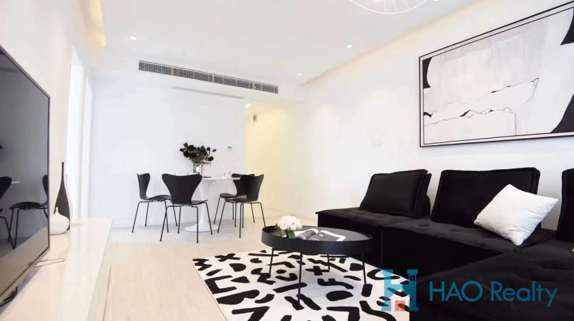 Spacious 2BR Apartment w/Floor Heating in Jiaozhou Road HAO Realty Shanghai HAOSW021979