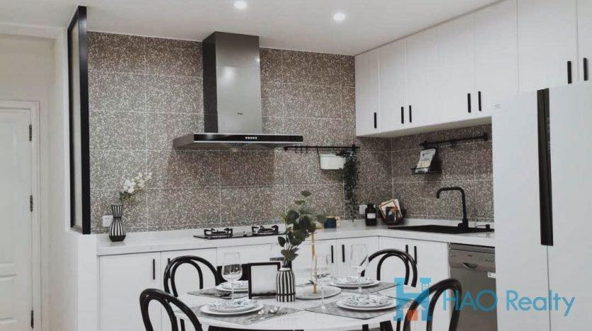 Spacious 4BR Apartment w/Floor Heating in Jewel Garden HAO Realty Shanghai HAOSW021204