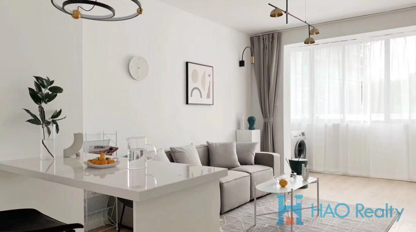 Cozy 1BR Apartment w/Wall Heating in Downtown HAO Realty Shanghai HAOAG026418