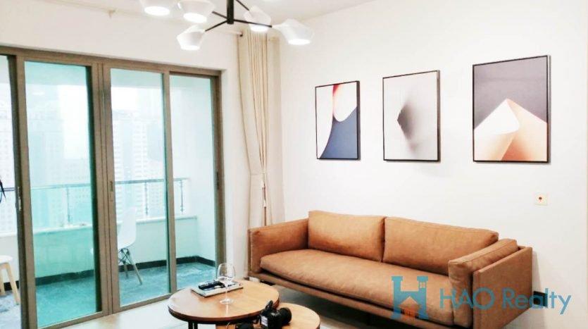 Cozy 2BR Apartment w/Floor Heating in One Park Avenue HAO Realty Shanghai HAOJH025988