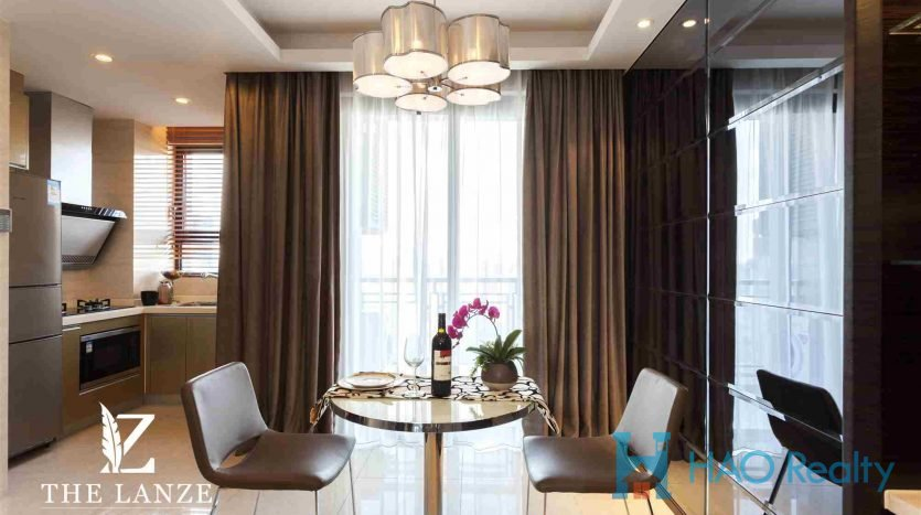 Cozy 2BR Service Apartment w/Floor Heating at Xuhui Riverside HAO Realty Shanghai HAOSW024067
