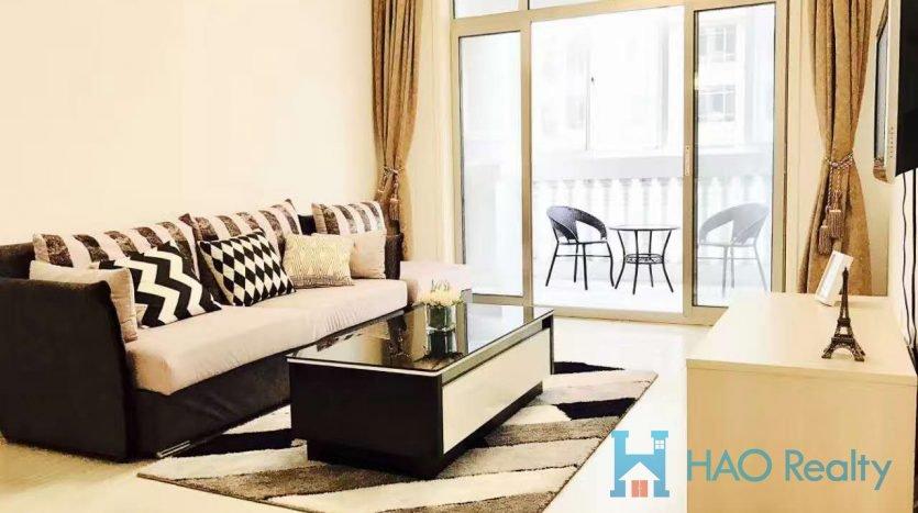 Spacious 1BR Apartment in Zhongshan Park HAO Realty Shanghai HAOMS024437