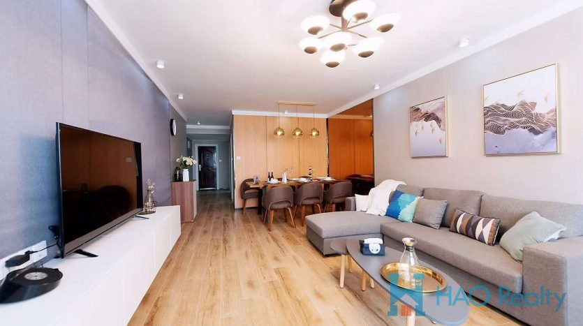 Spacious 2BR Apartment w/Floor Heating in Xujiahui HAO Realty Shanghai HAOSW024715