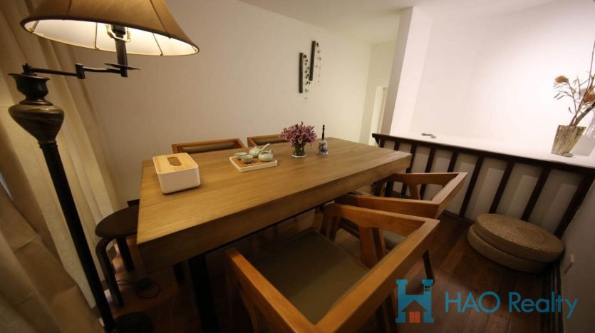 Spacious 2BR Lane House in Former French Concession HAO Realty Shanghai HAOMS024819