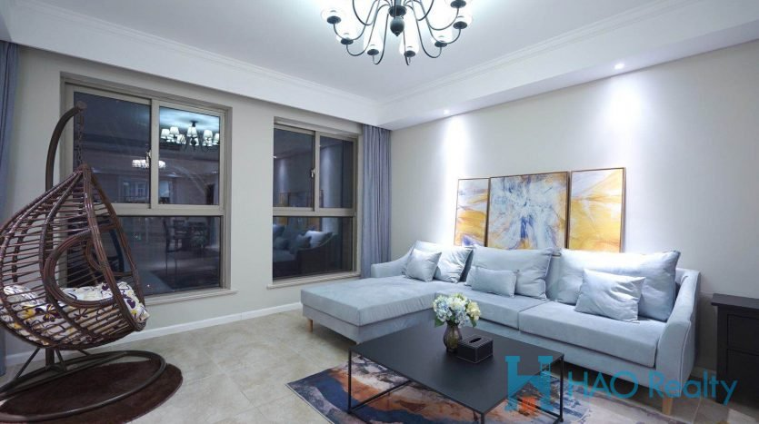 Spacious 3BR Apartment in Xuhui Riverside HAO Realty Shanghai HAOMS025150