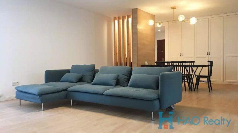 Spacious 3BR Apartment w/Floor Heating in Gubei HAO Realty Shanghai HAOAG028043