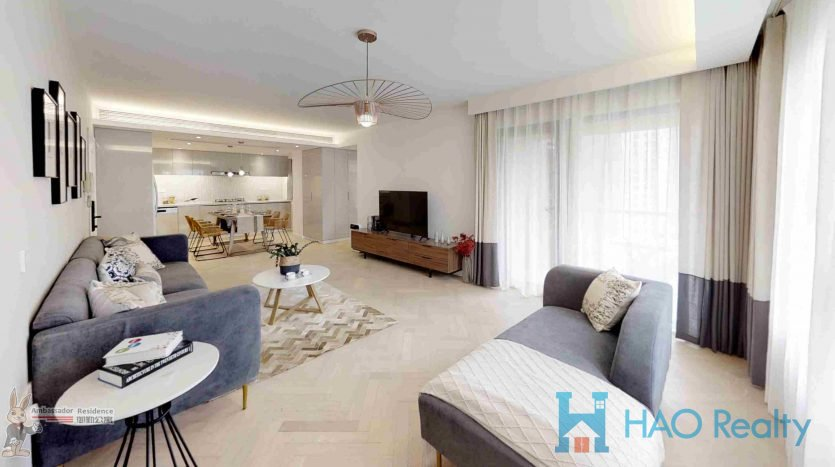 Spacious 3BR Apartment w/Floor Heating in The Courtyards HAO Realty Shanghai HAOSW025491