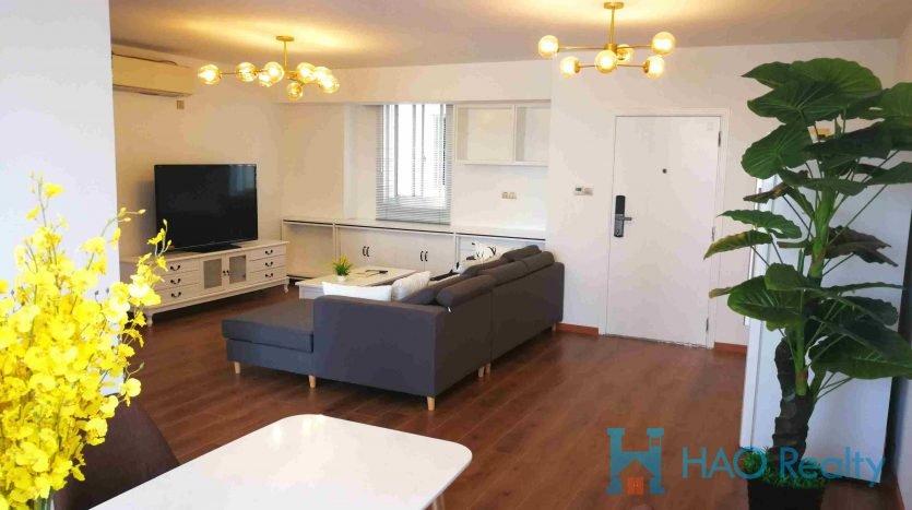 Spacious 3BR Apartment w/Floor Heating near Gubei HAO Realty Shanghai HAOAG024197