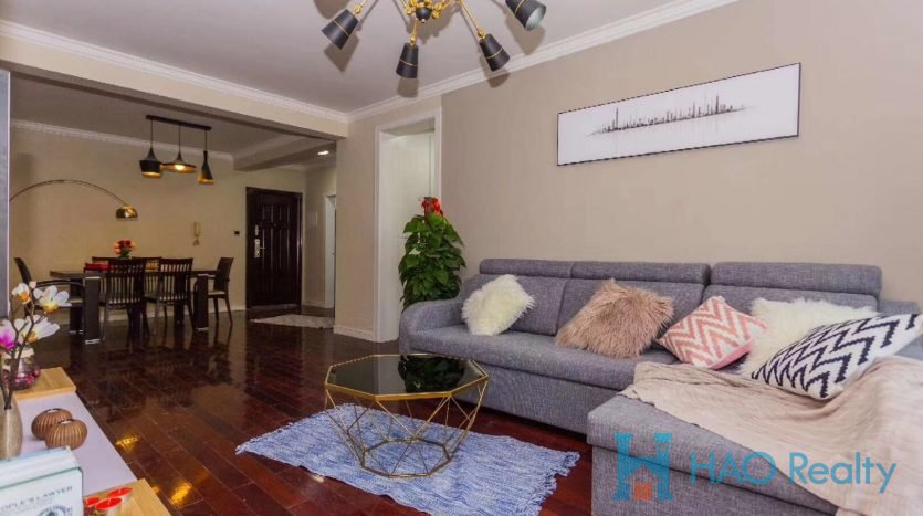 Spacious 3BR Apartment w/Wall Heating in Weihai Garden HAO Realty Shanghai HAOAG026225