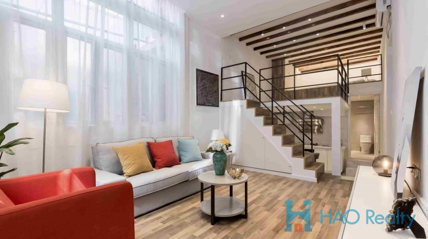 Modern Apartment in West Nanjing Road Area HAO Realty Shanghai HAOMS035923