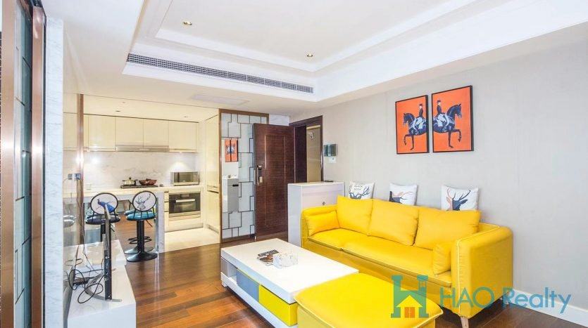 Modern Apartment in West Nanjing Road Area HAO Realty Shanghai HAOMS037058