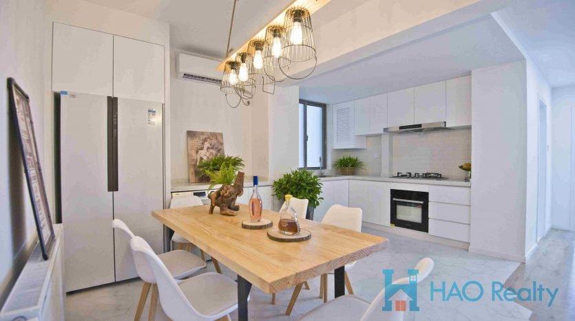 Modern Apartment in Zhongshan Park Area HAO Realty Shanghai HAOAG037098
