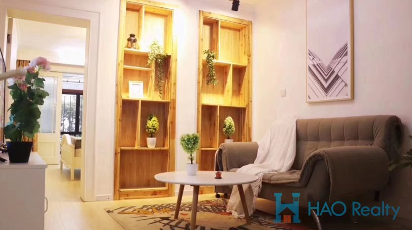 Renovated Apartment in Jing'an Temple Area HAO Realty Shanghai HAOMW038095