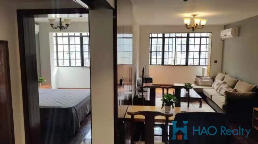Renovated Apartment next to Changshu Rd Metro HAO Realty Shanghai HAOEL059890