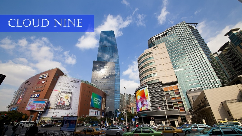 Cloud Nine Shopping Mall Zhongshan Park Shanghai