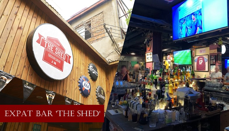The Shed Jingan Bar for Expats