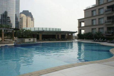 grand gateway 66 service apartments xujiahui shanghai swimming pool
