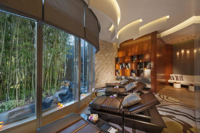 Mandarin Oriental Service Apartment Pudong spa
