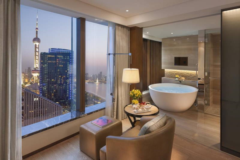 Mandarin Oriental Service Apartment Pudong view